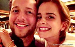 Emma Watson and Derek Blasberg in NYC [April 22, 2016]