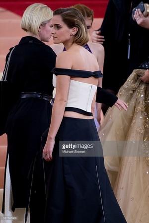 Emma Watson at Met Gala (May 2, 2016)