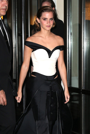 Emma Watson at the Met Gala May 02, 2016