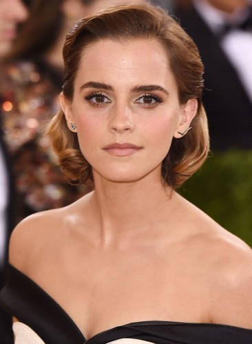Emma Watson wallpaper containing a portrait called Emma at MET Gala 2016