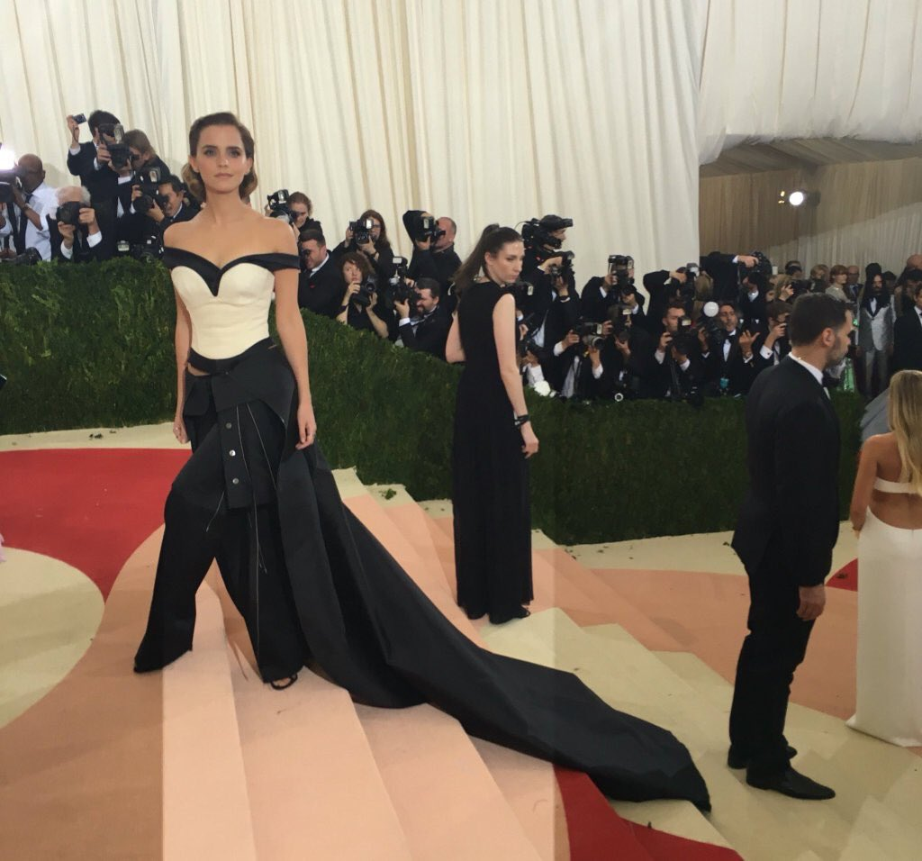 Emma Watson Images Emma At Met Gala 2016 Hd Wallpaper And Background