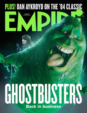 Empire Magazine's Ghostbusters Cover - June 2016