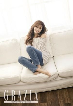 Eunji for ''Grazia''