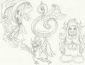 Evolutions 4 - mariposa-region-rpg fan art