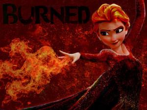 আগুন Elsa