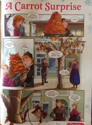 Frozen - Uma Aventura Congelante Comic - A Carrot Surprise