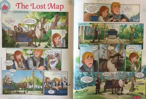 Frozen Comic - The Lost Map