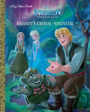 nagyelo Northern Lights - Kristoff's Crystal Adventure Book