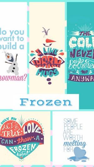 Frozen Phone پیپر وال