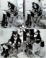 Gene ~Detroit, Michigan…January 25, 1976 - kiss photo