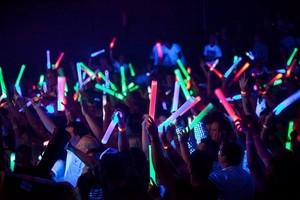 Glow stick کنسرٹ