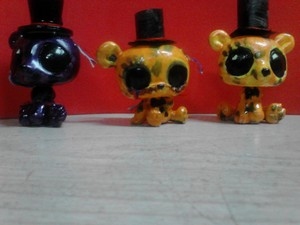 Goldens and Shadow Freddy Custom LPS