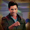 John Stamos photo possibly containing a portrait titled Grandfathered