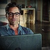 John Stamos चित्र probably with a laptop entitled Grandfathered