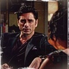 John Stamos photo possibly with a portrait called Grandfathered