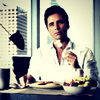 John Stamos 写真 possibly with a portrait titled Grandfathered