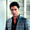 John Stamos foto possibly containing a business suit and a portrait called Grandfathered