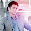 John Stamos चित्र probably with a business suit and a portrait titled Grandfathered