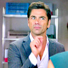 John Stamos photo containing a business suit called Grandfathered