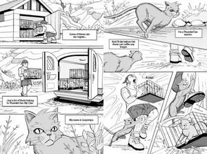 Graystripe Comic