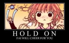 HOLD ON - Fai will cheer for あなた