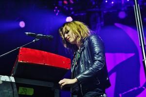 Halestorm in a concierto in New York City