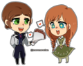 Hans and Anna - hans fan art