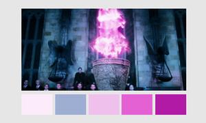 Harry Potter Color Palettes