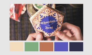 Harry Potter Color Palettes