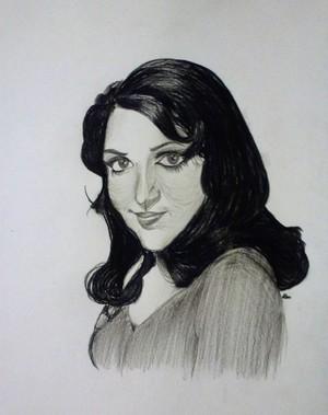 Hema Malini portrait