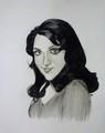 Hema Malini portrait - the-70s photo