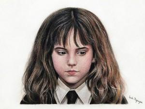 Hermione made oleh a fan