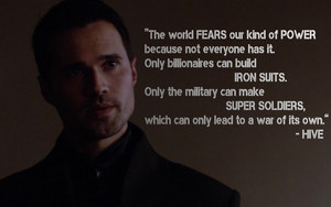 Hive quote on power and fear