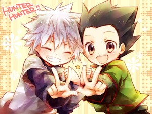 Hunter X Hunter Killua and Gon