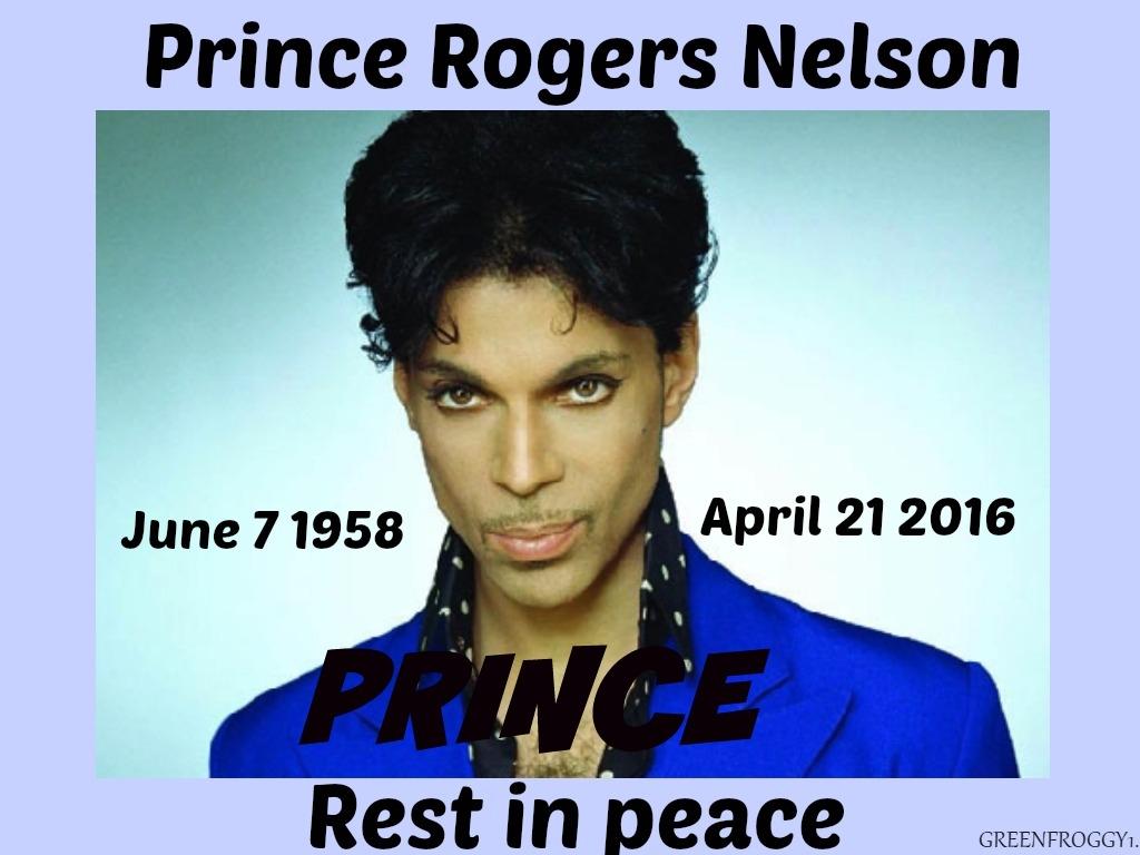 In Loving Memory Of Prince