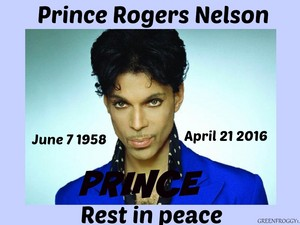 In Loving Memory Of Prince