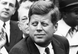 The Presidents of The United States wallpaper containing a business suit entitled JFK 5