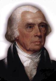 The Presidents of The United States wallpaper entitled James Madison