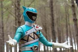 James Morphed As The Aqua Dino Charge Ranger