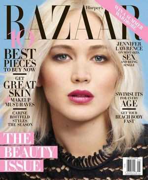 Jennifer Lawrence - Harper's Bazaar Cover - May 2016