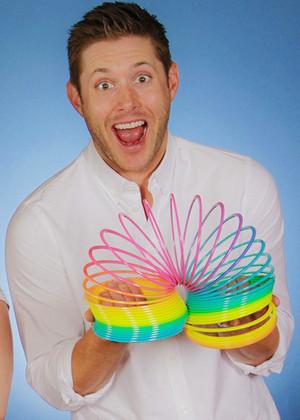 Jensen Ackles big slinky