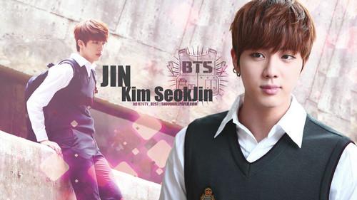 acak wallpaper called Jin