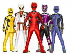 Jungle Fury Power Rangers