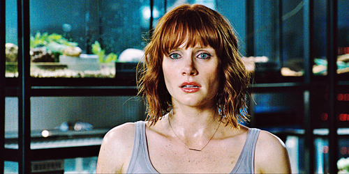 jurassic world wallpaper probably containing a portrait titled Jurassic World Screencaps - Claire Dearing