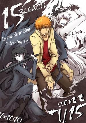 Just Hollow Ichigo and Tensa Zangetsu related 画像