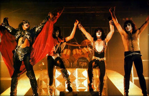 Kiss ~October 1980 (Unmasked tour / Germany)