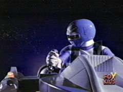 Kai Morphed As The Blue Galaxy Ranger