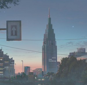 Kimi no Na wa Background Visuals
