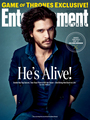 Kit Harington-  EW Cover - game-of-thrones photo