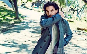 Kit Harington in Entertainment Weekly Photoshoot